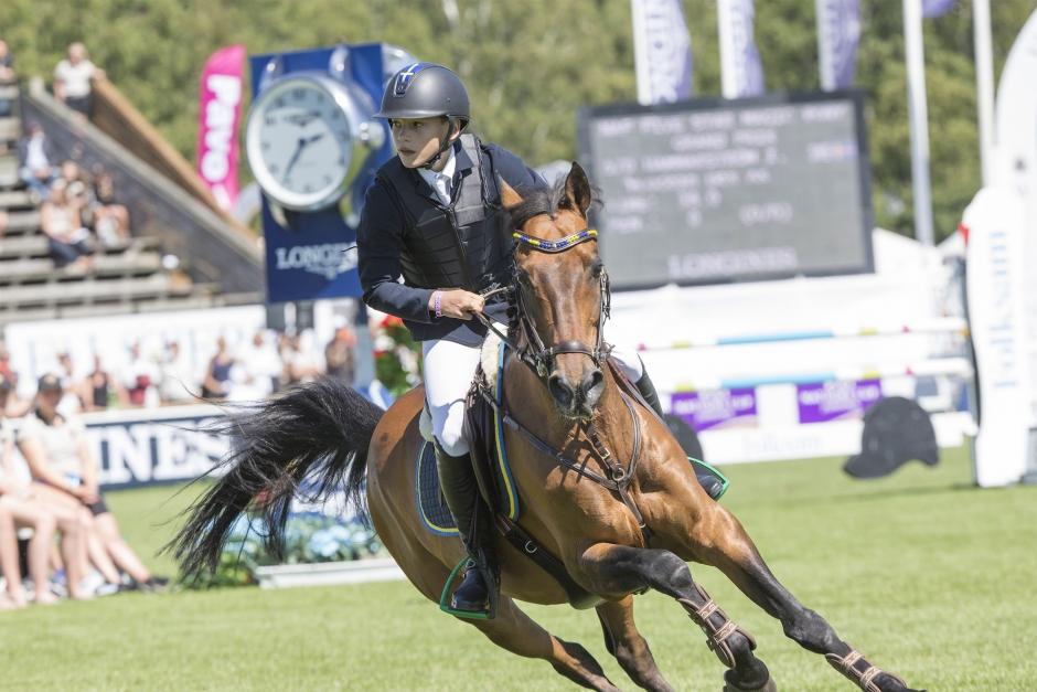 Ingemar Hammarström vann ponny-GP