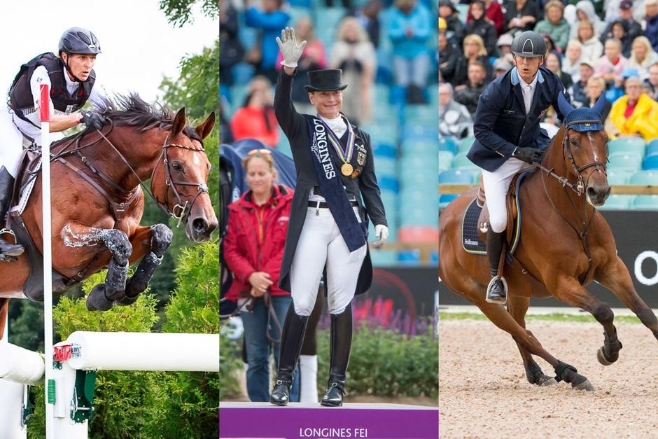 Tre EM-vinnare till Stockholm