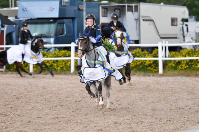 Platser och datum klara för rikstäckande ponnycup
