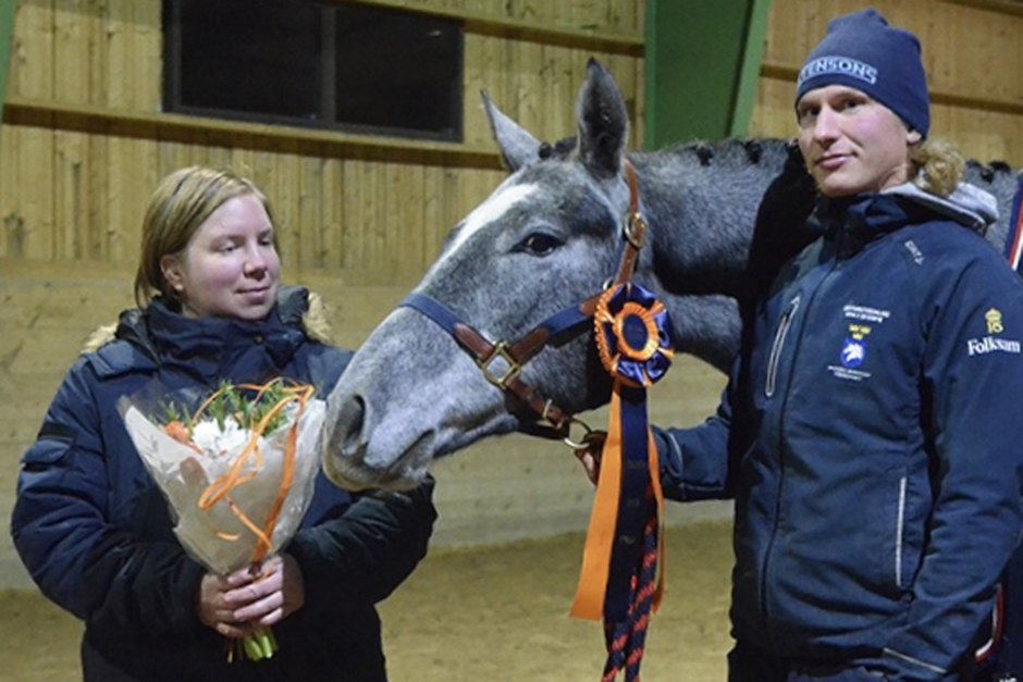 Mr Grey ML segrade i Eklunda Open