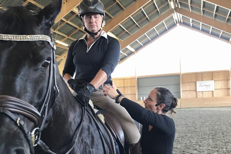 """Veterinären och forskaren: """"Bättre hållning i sadeln kräver bättre hållning i vardagen"""""""