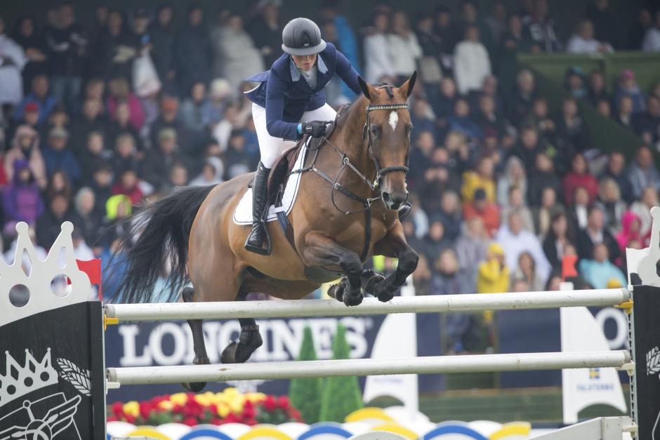 Stephanie och Sparven bästa svenskar i 1,50