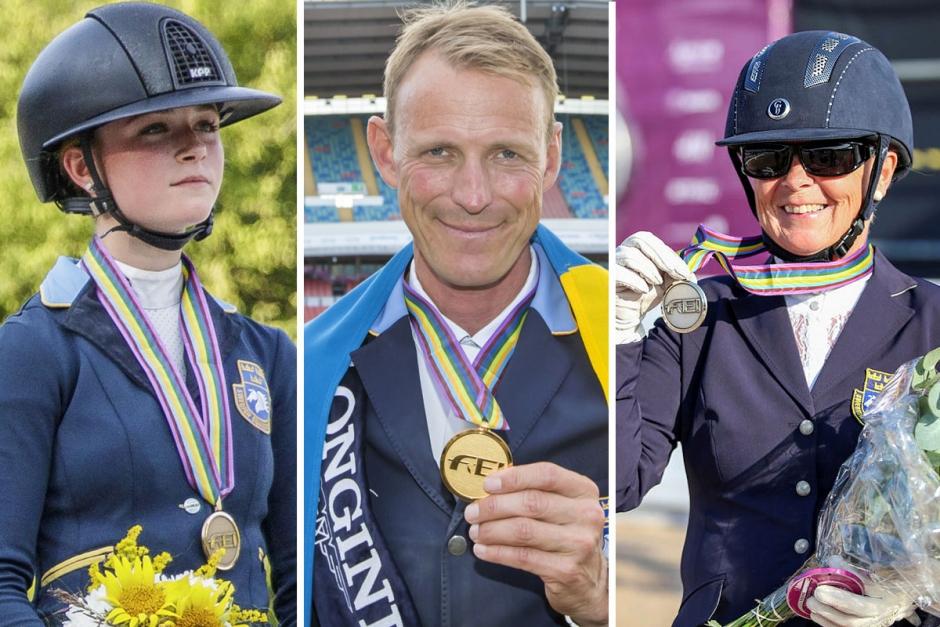 2017 – vilket mästerskapsår för Sverige
