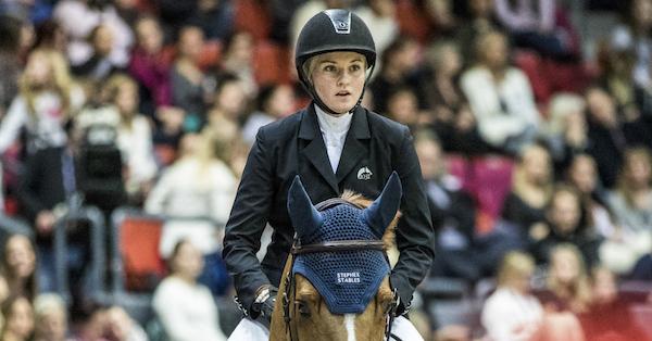 Petronella Andersson 1,45-vinnare i Mechelen