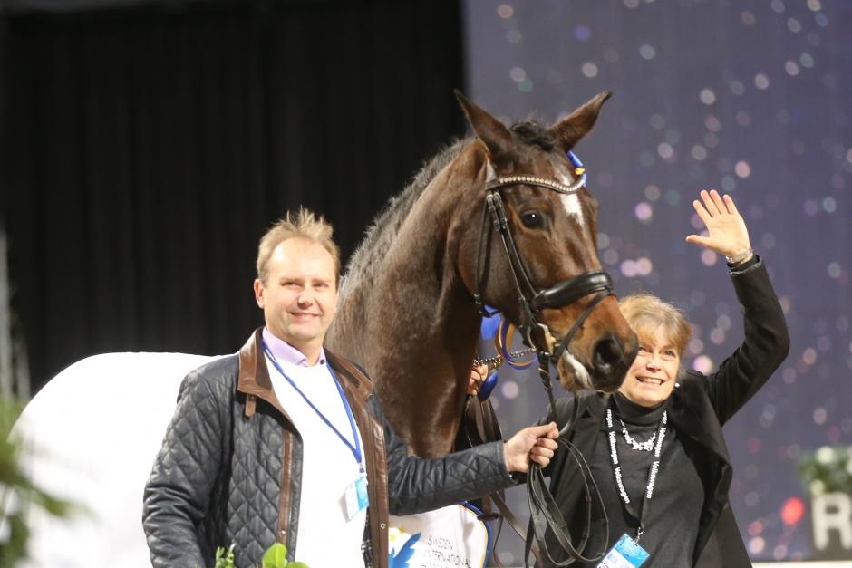 Champion of the winners till Astoria och Jeanna Högberg