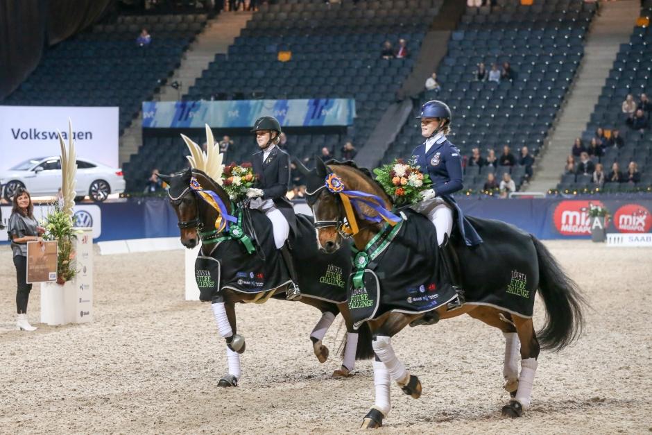 Ichi bästa häst och Lina Dolk bäst i test