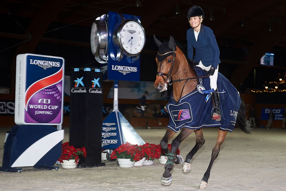 Edwina Tops-Alexander vann i La Coruña