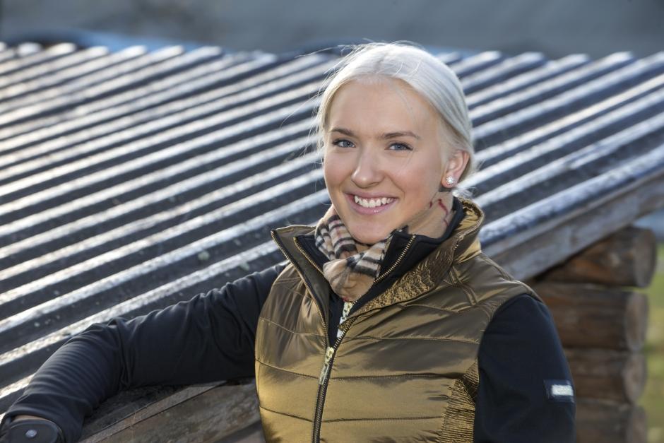 Cecilia Bergåkra skadad i ridolycka