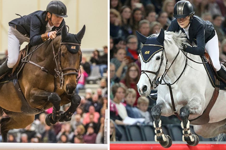 Svensk femstjärnig dubbel på Olympia