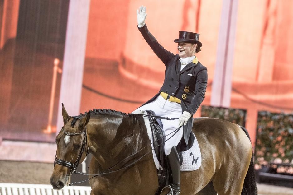 Isabell Werth bäst i världscupkvalet