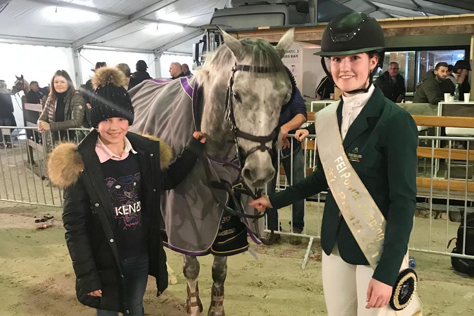 EM-ponny till Ebba Danielsson