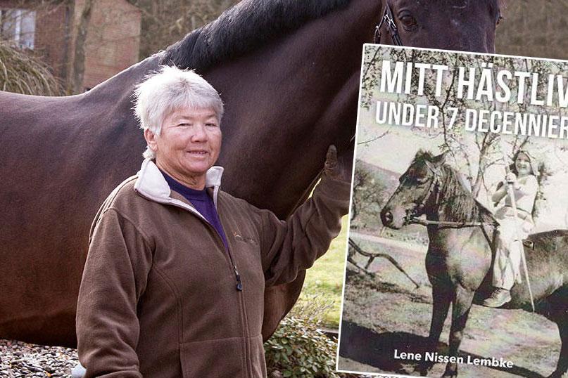 Lene Nissen Lembke summerar sitt hästliv i egen bok