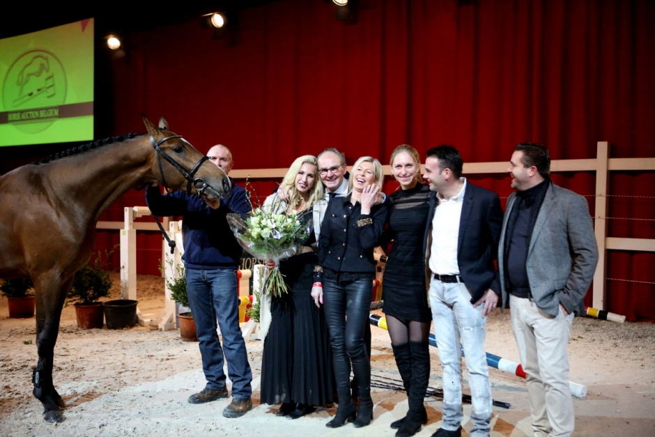 Belgisk auktionstopp såld till svensk ryttare
