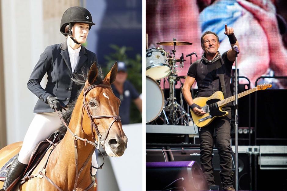Bruce Springsteen samlar in pengar till USA:s ridsportlag