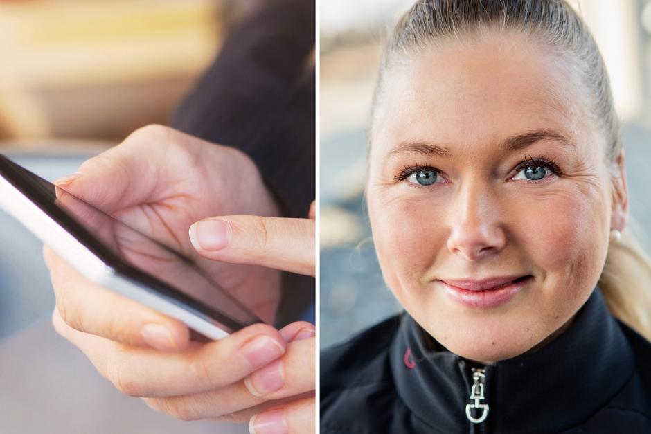 """Johanna Lassnack: """"Tro inte på allt du ser"""""""