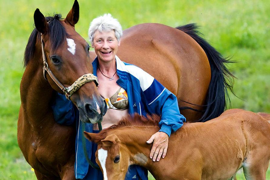 Sparvens mamma Flippan lever pensionärsliv i Belgien
