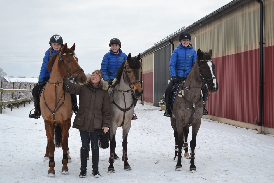 Ponnykrönikan: Inspirerande när ponnyryttarna slår sig fram på stor häst