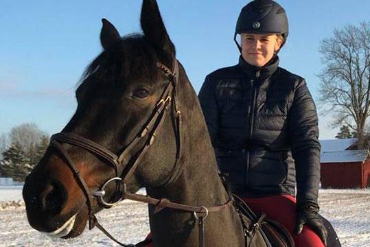 Rebecca Taxén i topp två veckor i rad