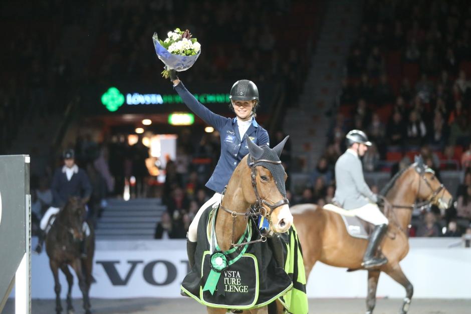 Dubbelt svenskt i topp i Lövsta Future Challenge finalen