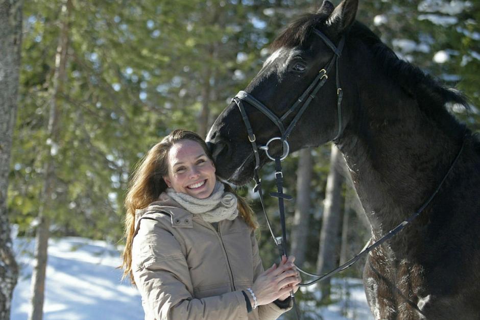 Sigrid Bergåkra får nytta av bondegenerna i nya Farmen VIP