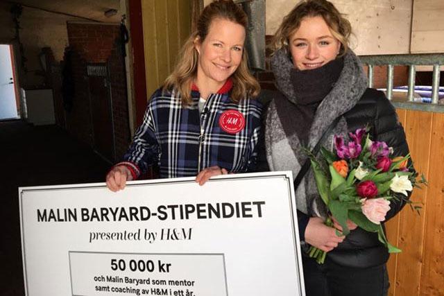 Cora Hirn tilldelas Malin Baryard-stipendiet