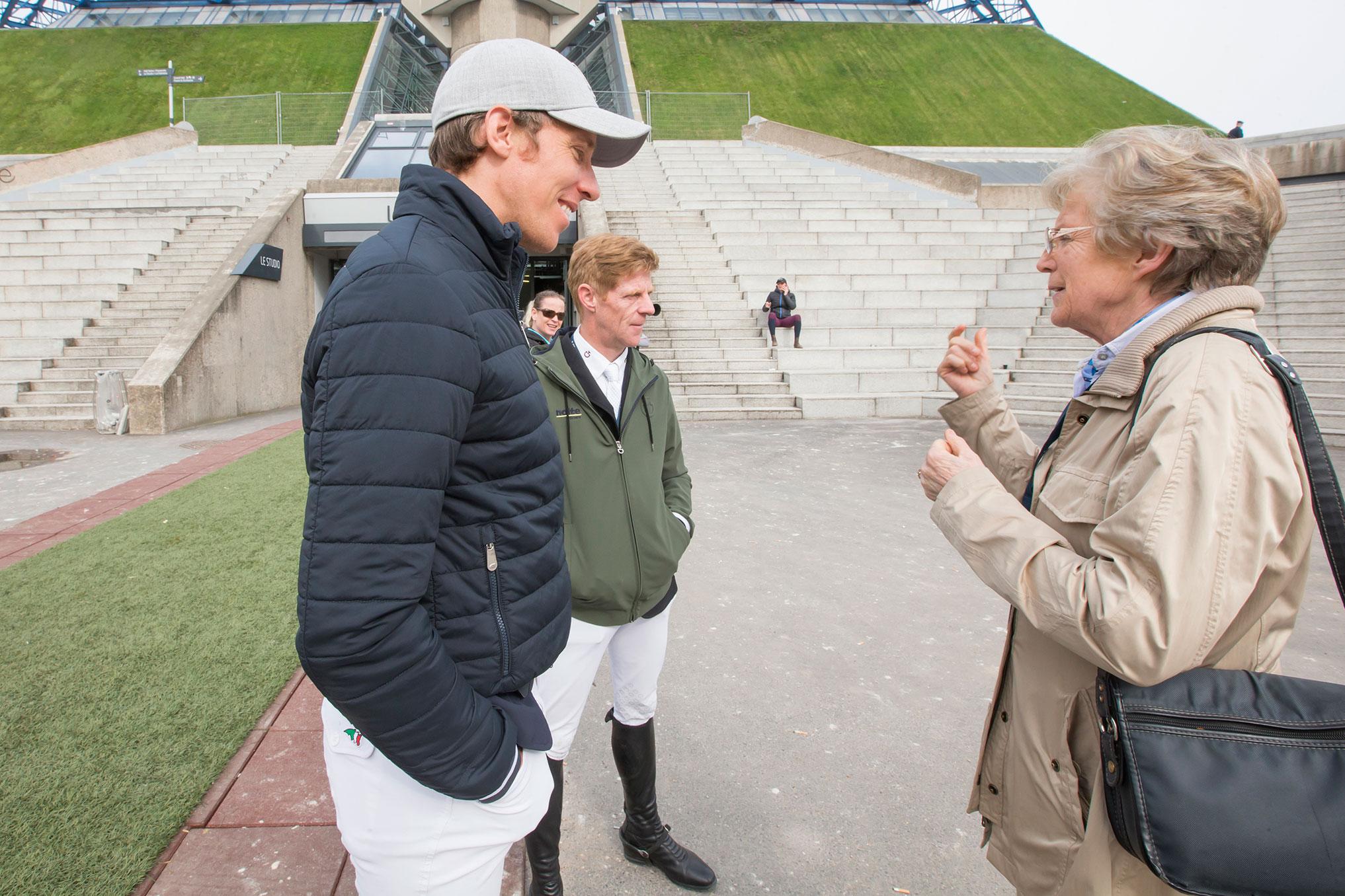 Henrik von Eckermann, Marcus Ehning och Madeleine Winter Schulze