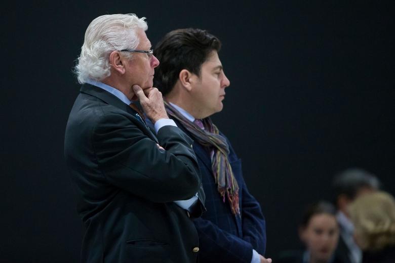 180412 WC-final Paris Commision d´Appel, Freddy Smeet, BEL. Photo: Roland Thunholm Code: 718 35