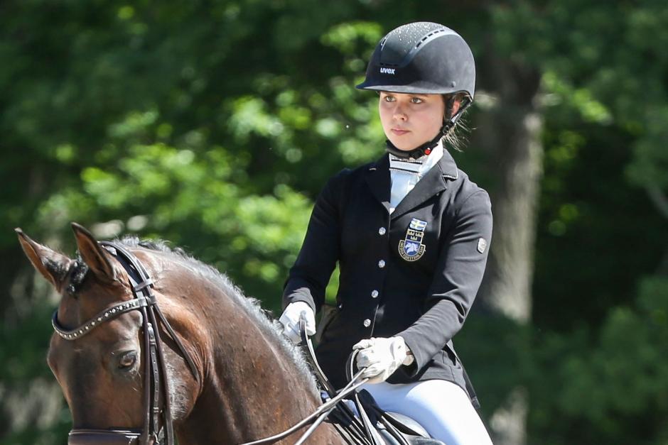 Jennifer Lindvall vann i Belgien