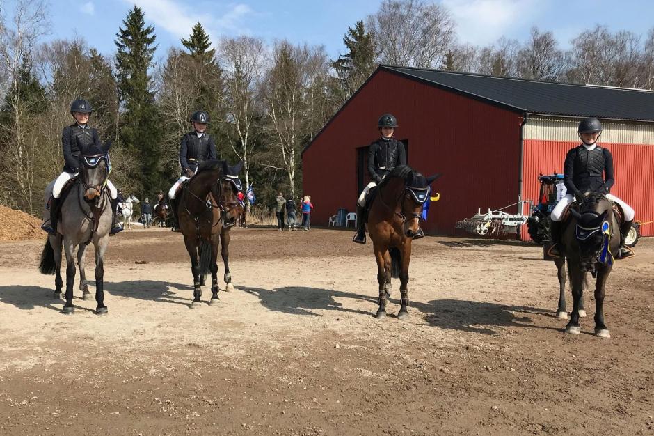 Stöcke och Jump Club tog hem veckans lagsegrar i ponnyeliten