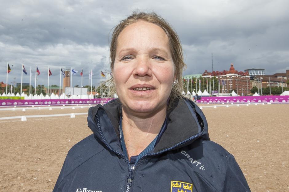 Anita Johnsson trea i Belgien