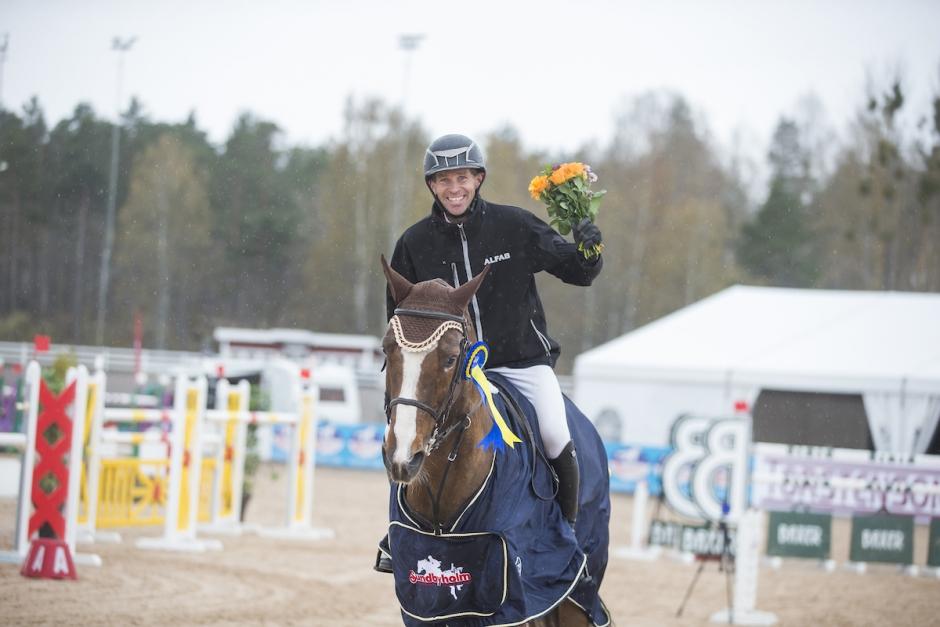 Niklas Arvidsson 1,50-vinnare på Sundbyholm
