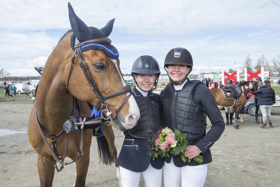 Annie Unghanse och Kajsa Björe klara för Falsterbo