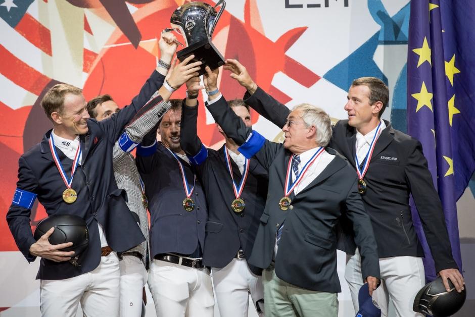 Peder och Europa vann Riders Masters Cup