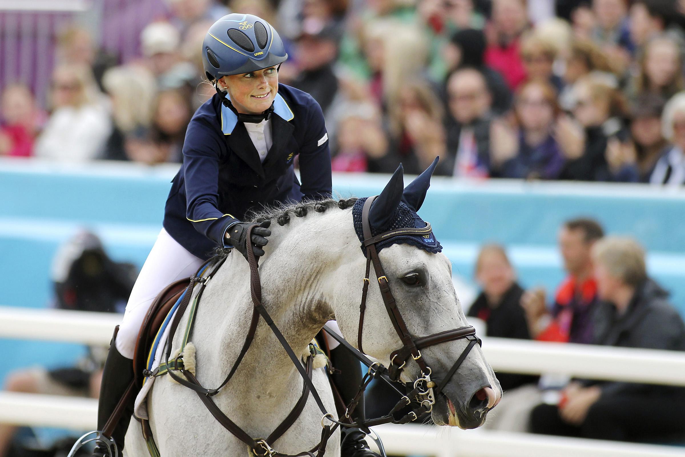 Sara Algotsson After Jump