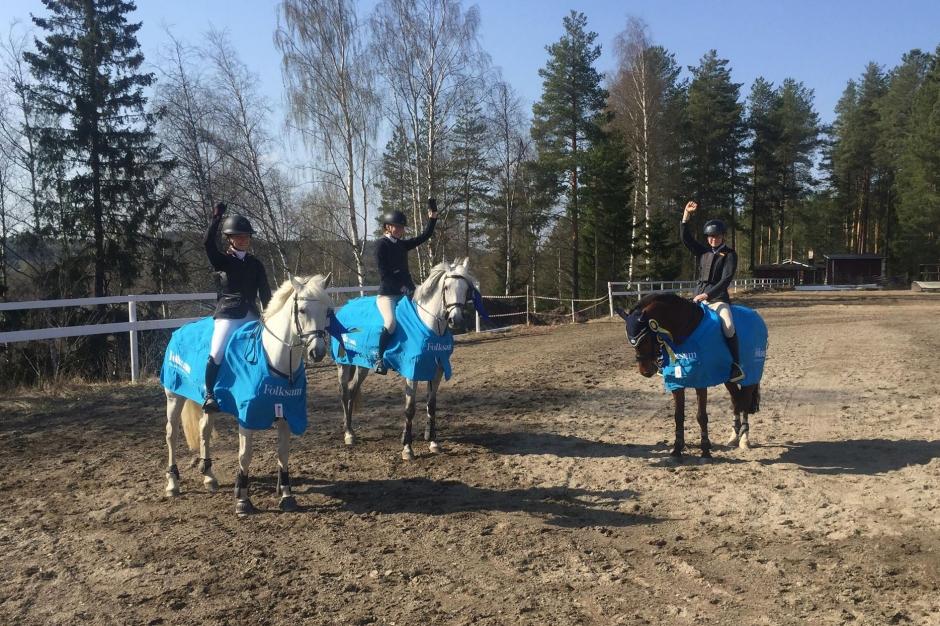 Skrällseger i Vännäs – Bollnäs ponnylag till SM-final