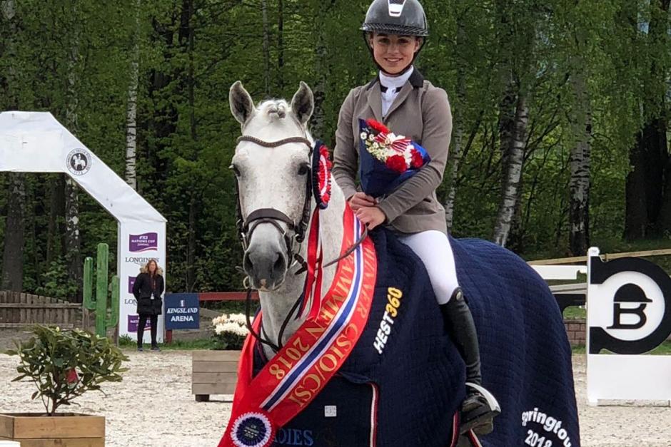 Mathilda Bohlin dominerade i Drammen