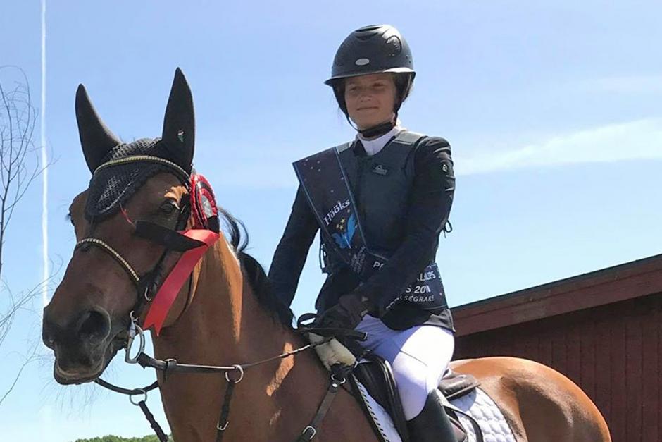 Tredje ryttaren klar till Falsterbos ponny-GP