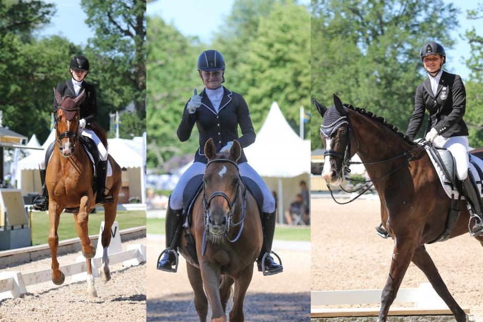 Felicia Olofsson och Bellman toppade formen i junior-SM
