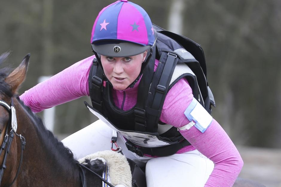 Hanna Berg satte punkt i England med trestjärnig framgång
