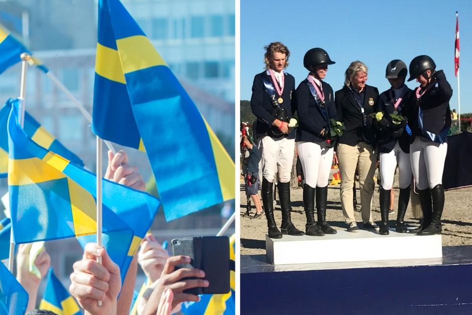 Brons, silver, guld – medaljregn över svenska hopplagen på NM