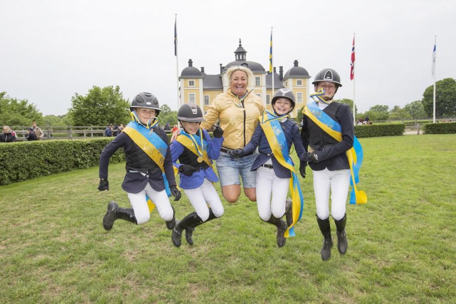 Hästfest när Strömsholms tävlingar jubilerar