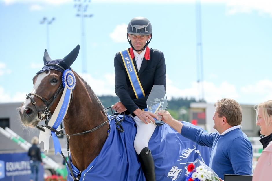 Niklas Arvidsson 1,50-vinnare i Runsten