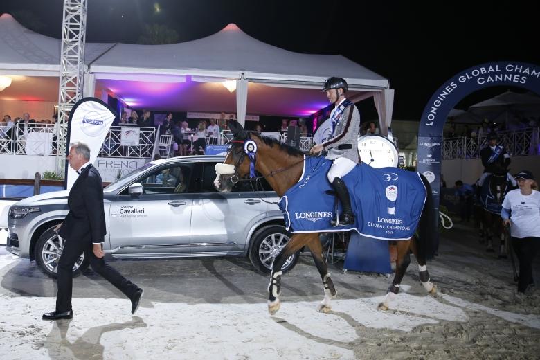 Peder Fredricson (swe) On Hansson Wl Is The Winner Of The Lgct Grand Prix De La Ville De Cannes Presented By Volvo Groupe Cavallari