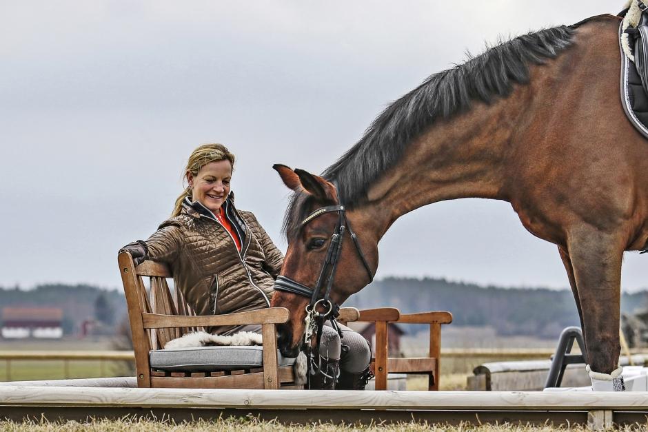Karin Öljemark – med känsla för hästar