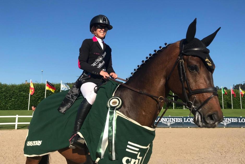 Hannah Åkerblom placerad i 1,60-debuten