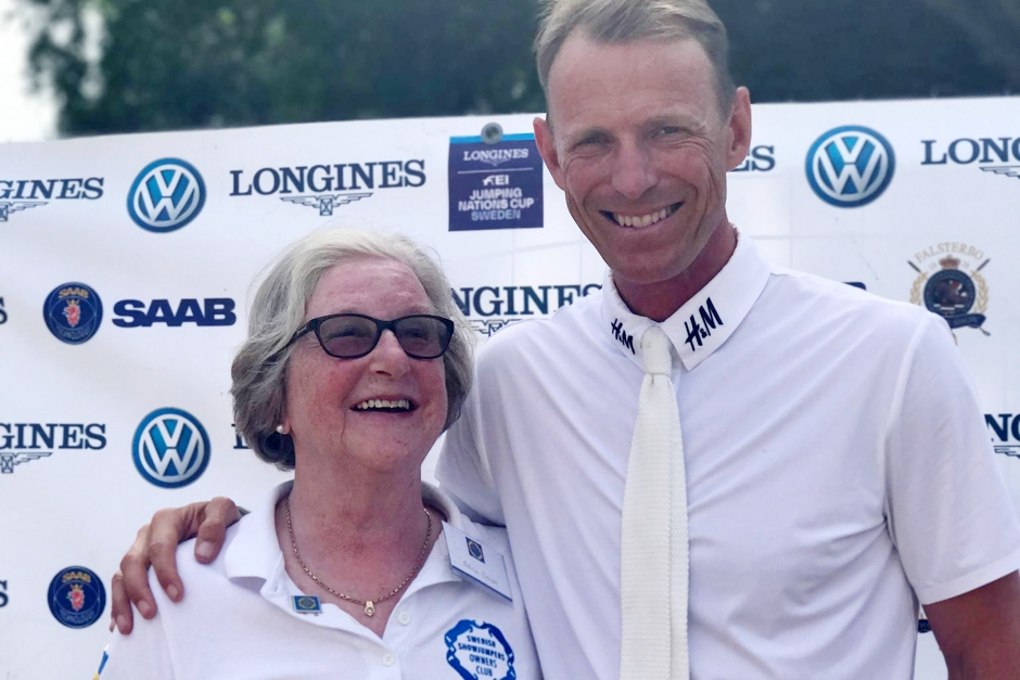 Hansson, Peder och pensionerade favorithästen – Astrid Ohlin berättar mer