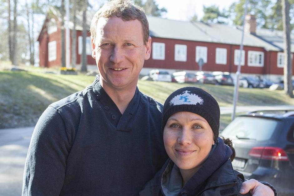 Arnold och Elin flyttar hem – startar hingststation
