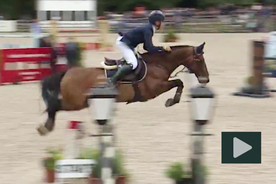 Guldrysningar: Se Ingemars vinnarrunda på ponny-EM