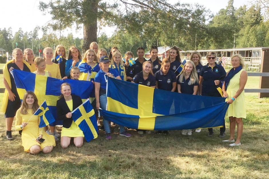 Svensk trippelledning på Nordiska mästerskapen
