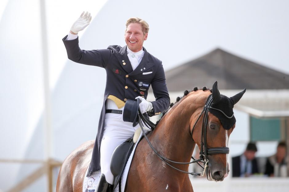 Patrik Kittel har valt sin VM-häst